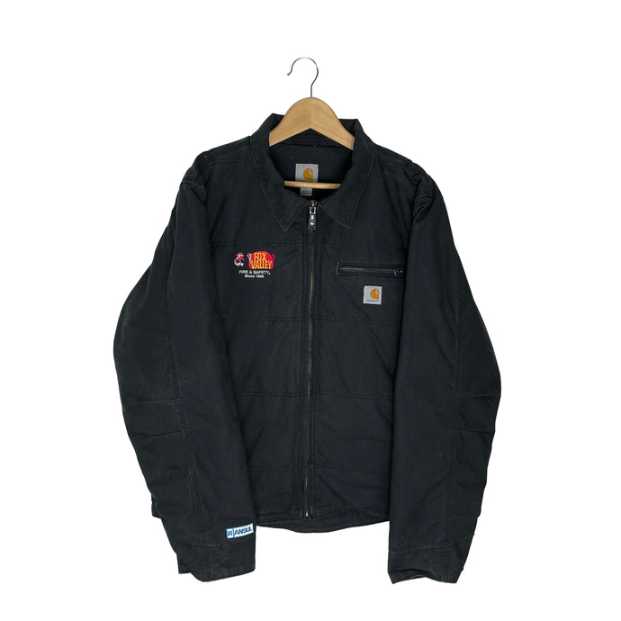 Custom Carhartt Fleece Lined Jacket - Men's Large
