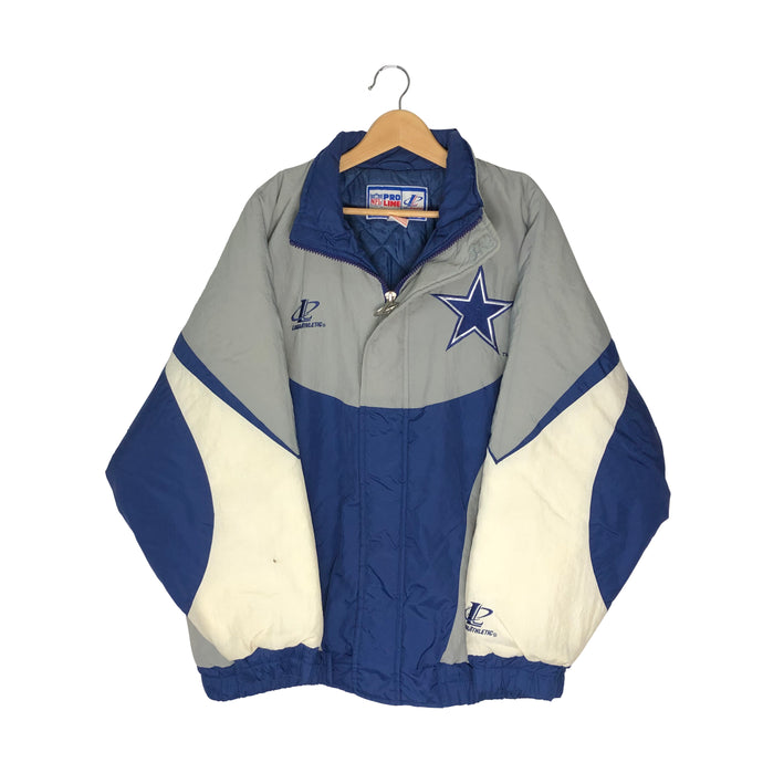 Vintage Dallas Cowboys Insulated Jacket - Men's XL