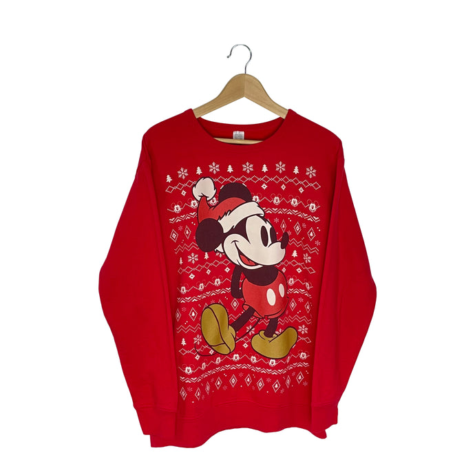 Disney Mickey Mouse Sweatshirt - Men's Large
