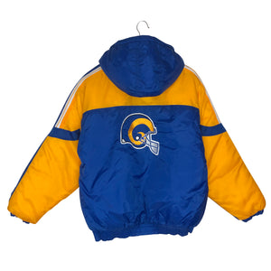 Vintage St. Louis Rams Insulated Jacket - Men's Small