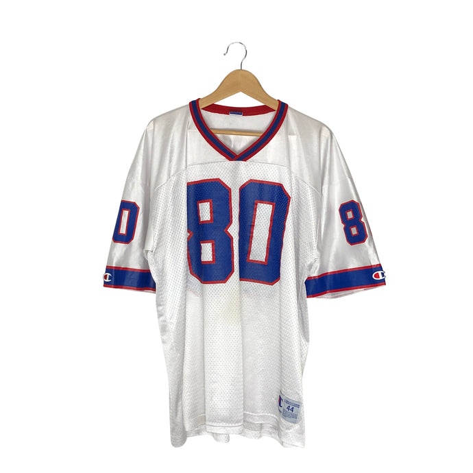 Vintage Champion Buffalo Bills Eric Moulds #80 Jersey - Men's Large