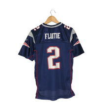 Load image into Gallery viewer, Vintage Reebok New England Patriots Doug Flutie #2 Jersey - Men's XS