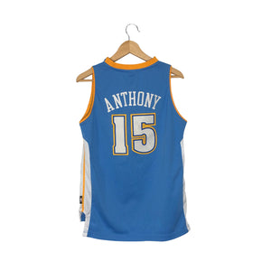 Vintage Reebok Denver Nuggets Carmelo Anthony #15 Jersey - Men's Small