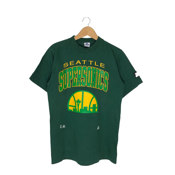 Vintage Starter Seattle Supersonics T-Shirt - Men's Medium