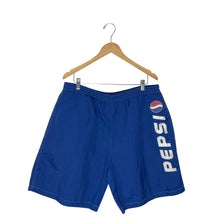 Load image into Gallery viewer, Vintage Pepsi Windbreaker Shorts - Men's XL