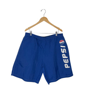 Vintage Pepsi Windbreaker Shorts - Men's XL