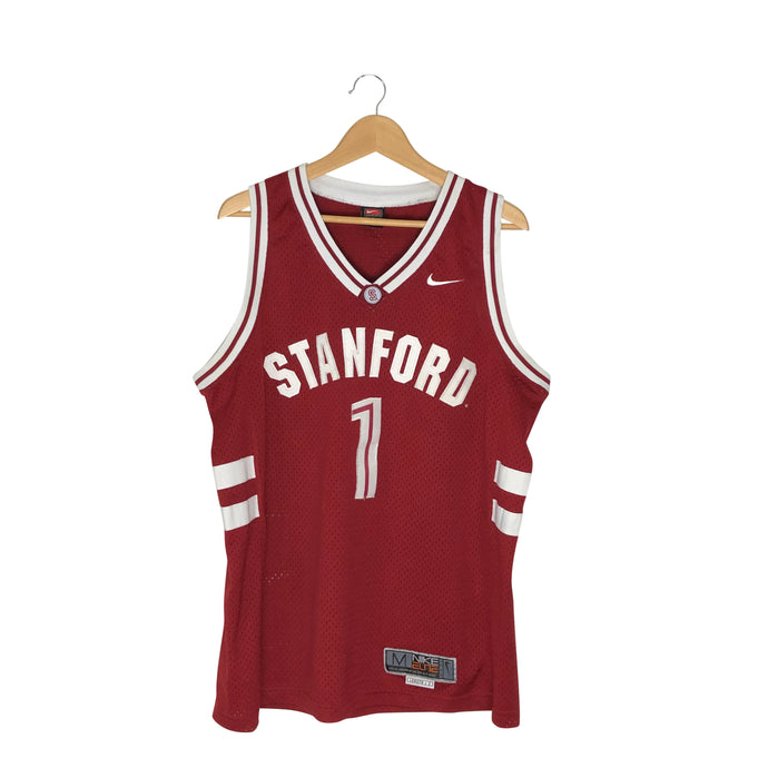 Vintage Nike Stanford Cardinals Basketball Jersey - Men's Medium