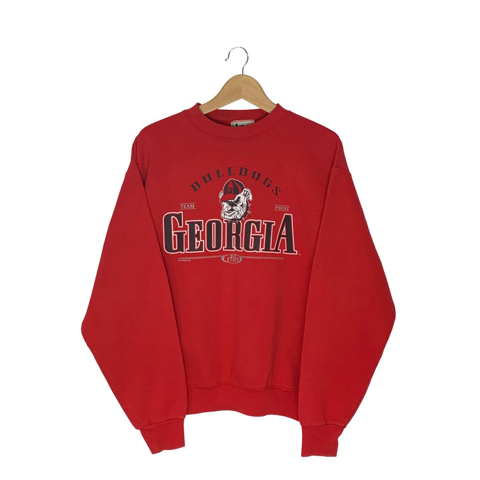 Vintage Lee Sport Georgia Bulldogs Pullover Sweatshirt - Women's Large