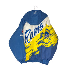 Load image into Gallery viewer, Vintage Logo Athletic St. Louis Rams Insulated Splash Jacket - Men's XL