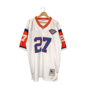 1994 Mitchell and Ness Denver Broncos Steve Atwater #27 Jersey - Men's XL
