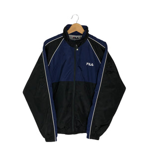 Vintage Fila Colorblock Windbreaker - Men's Medium