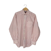 Load image into Gallery viewer, Vintage Tommy Hilfiger Button-Down Striped Shirt - Men's Large