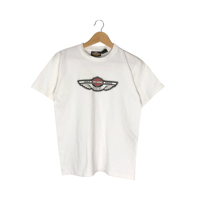 Harley Davidson 100 Year Anniversary T-Shirt - Men's Small