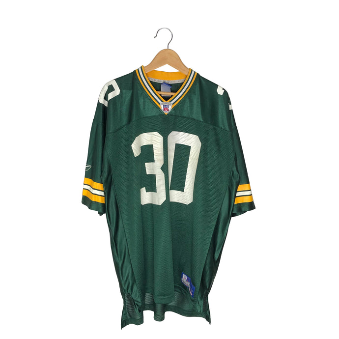 Vintage Reebok Green Bay Packers Ahman Green #30 Jersey - Men's XL