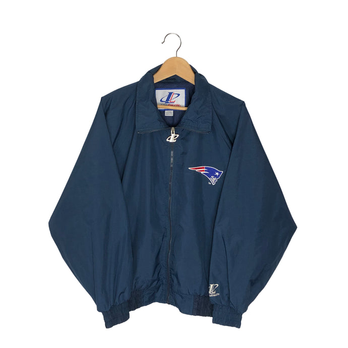 Vintage Logo Athletic New England Patriots Windbreaker - Men's Medium