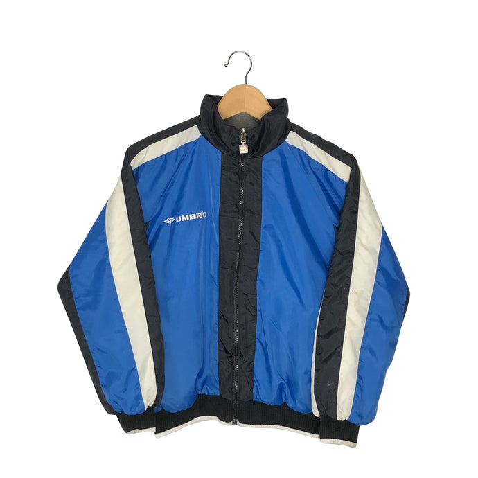 Vintage Umbro Big Logo Reversible Jacket - Women's Small