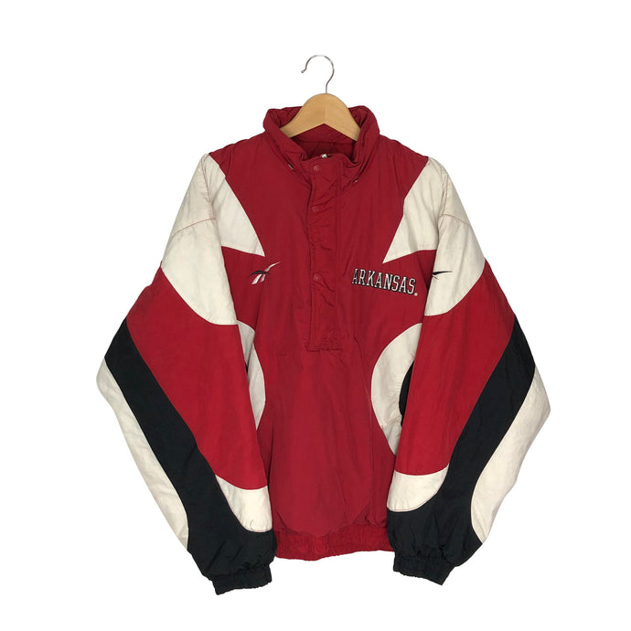 Vintage Reebok Arkansas Razorbacks Insulated Jacket - Men's 2XL