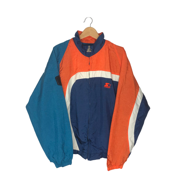 Vintage Starter Colorblock Windbreaker - Men's XL