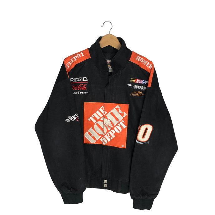 Vintage The Home Depot Racing Jacket - Men's Medium