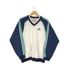 Load image into Gallery viewer, Vintage Adidas Pullover Windbreaker - Women's Large