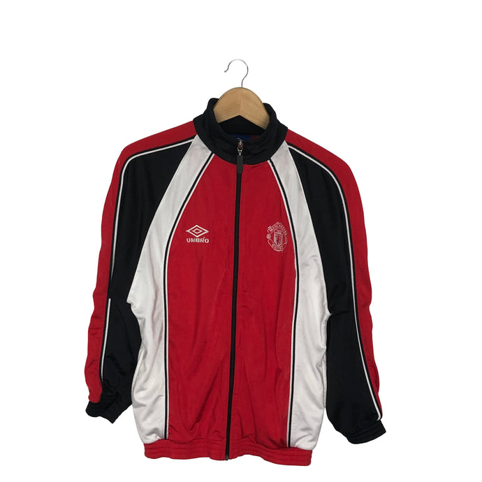 Vintage Umbro Manchester United Track Jacket - Men's XS