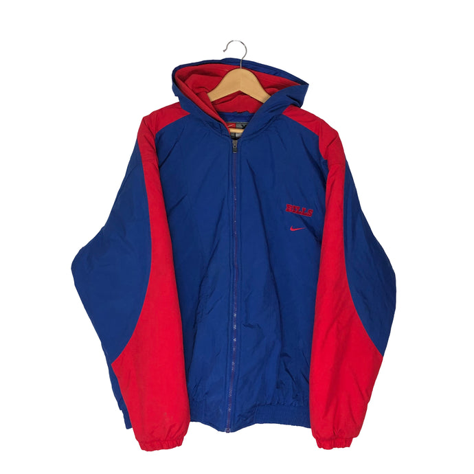 Vintage Buffalo Bills Colorblock Insulated Jacket - Men's XL