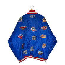 Load image into Gallery viewer, Vintage Rare NBA Team Patches Bomber Jacket - Men's 3XL