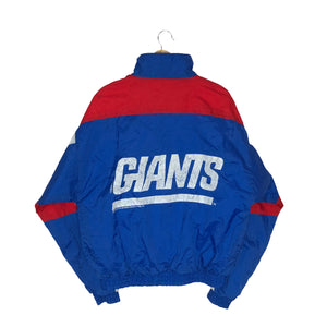 Vintage 1994 New York Giants Flintstones Colorblock Windbreaker - Men's Medium