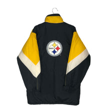 Load image into Gallery viewer, Vintage Pittsburgh Steelers Big Logo Insulated Coat - Women's Large