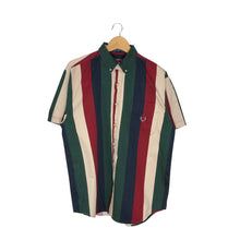 Load image into Gallery viewer, Vintage Striped Button-Down Shirt - Men's Large