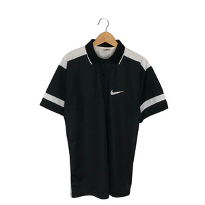 Vintage Nike Jersey Polo Shirt - Men's Large