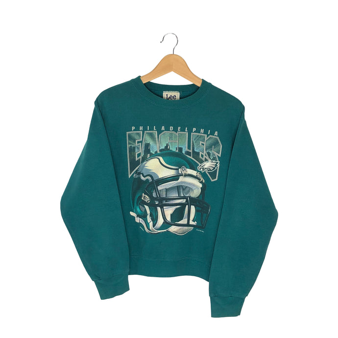 Vintage 1997 Lee Sport Philadelphia Eagles Pullover Sweatshirt - Women's Small