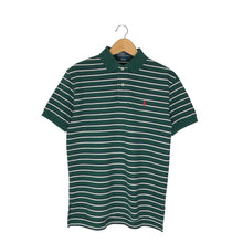 Load image into Gallery viewer, Vintage Polo Ralph Lauren Striped Rugby Polo Shirt - Men's Small