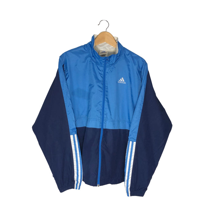 Vintage Adidas Colorblock Windbreaker - Women's XL