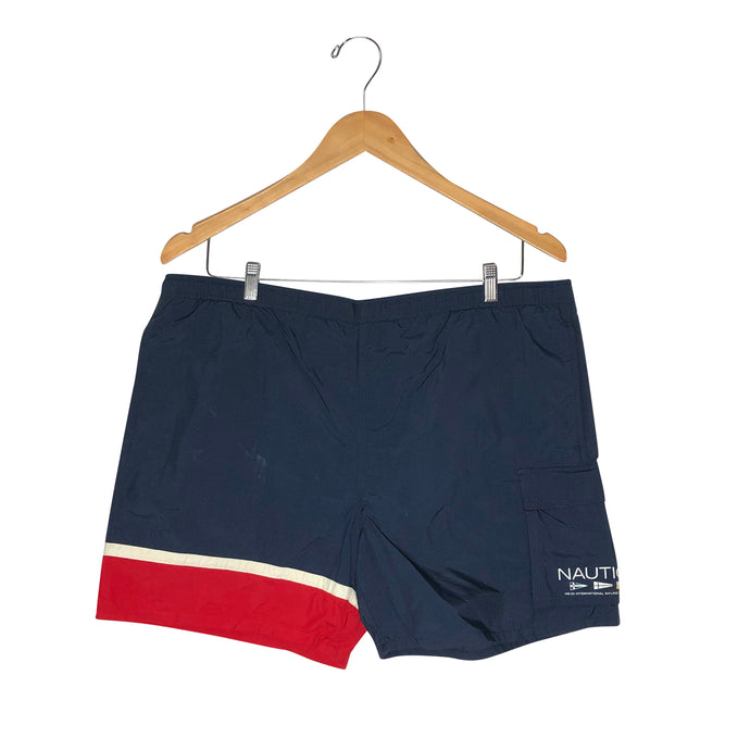 Vintage Nautica Sail Board Shorts - Men's XXL