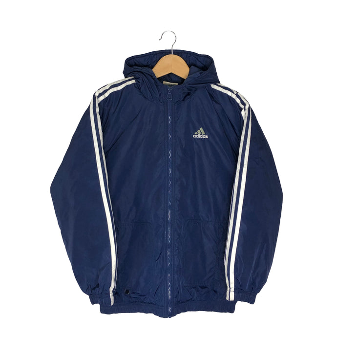 Vintage Adidas Big Logo Insulated Jacket - Women's Medium
