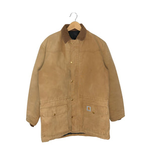 Vintage Carhartt Canvas Insulated Work Jacket - Men's Large