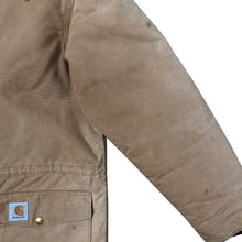 Load image into Gallery viewer, Vintage Carhartt Canvas Insulated Work Jacket - Men's Large