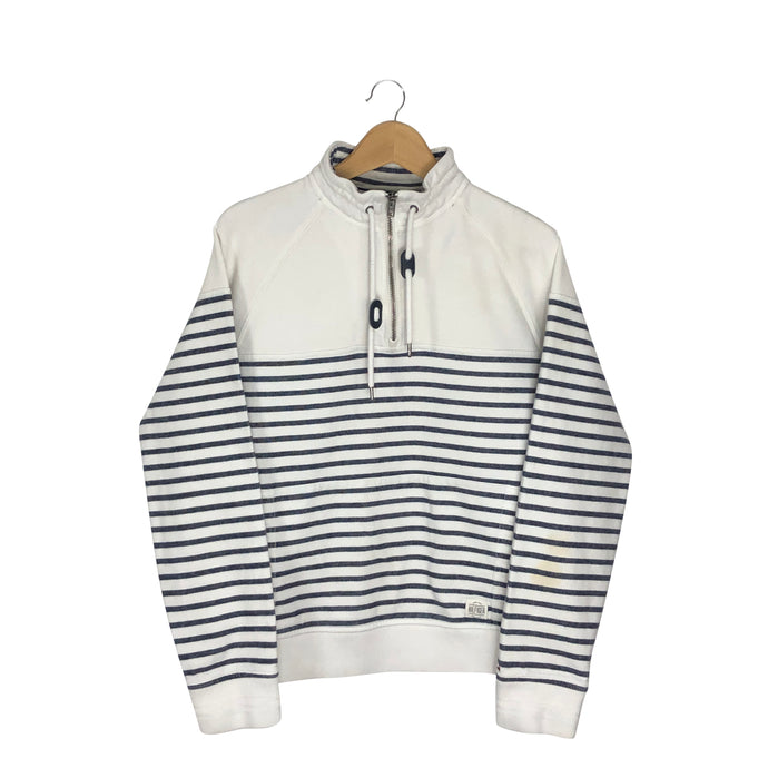 Tommy Hilfiger 1/4 Zip Pullover Sweatshirt - Women's Medium