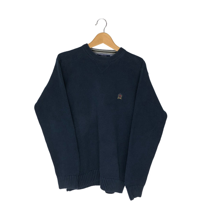 Vintage Tommy Hilfiger Knitted Pullover Sweater - Men's Medium