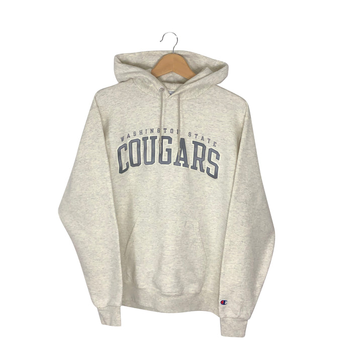 Vintage Champion Washington State Cougars Hoodie - Men's Medium