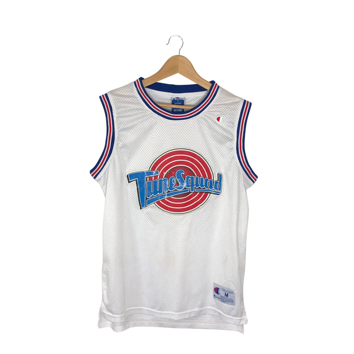 Vintage Champion Space Jam Tune Squad Michael Jordan #23 Stitched Jersey - Men's Medium