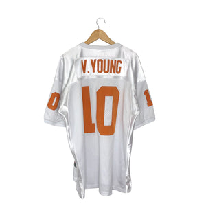 Vintage Nike Rose Bowl Texas Longhorns Vince Young #10 Stitched Jersey - Men's 2XL