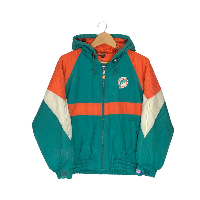 Vintage NFL Miami Dolphins Insulated Jacket - Women's XS