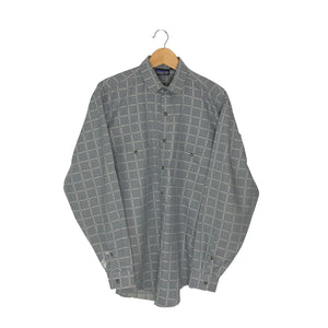 Vintage Patagonia Button-Up Plaid Shirt - Men's Medium