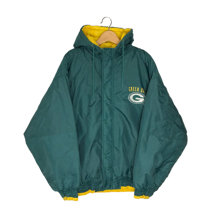 Vintage Logo 7 NFL Green Bay Packers Insulated Jacket - Men's XL