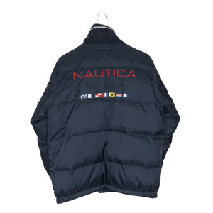 Vintage Nautica Flag Series Reversible Insulated Jacket - Men's Small