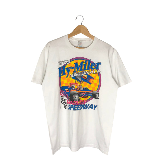 Vintage 1995 Hy-Miller Nationals Racing T-Shirt - Men's Medium