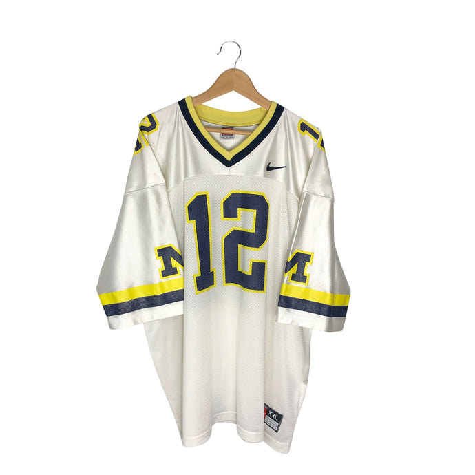 Vintage Nike Michigan #12 Jersey - Men's XXL