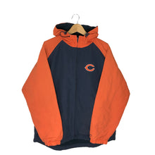 Load image into Gallery viewer, Reebok NFL Chicago Bears Fleece Lined Jacket - Men's Large
